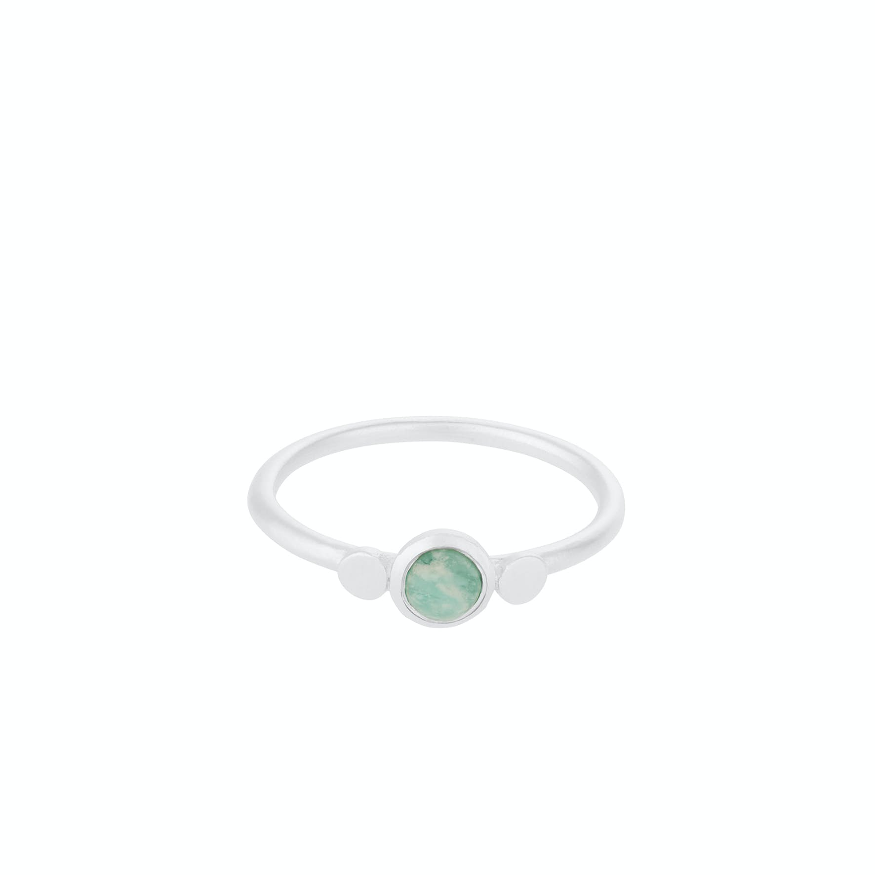 Fjord Ring from Pernille Corydon in Silver Sterling 925|Amazonite