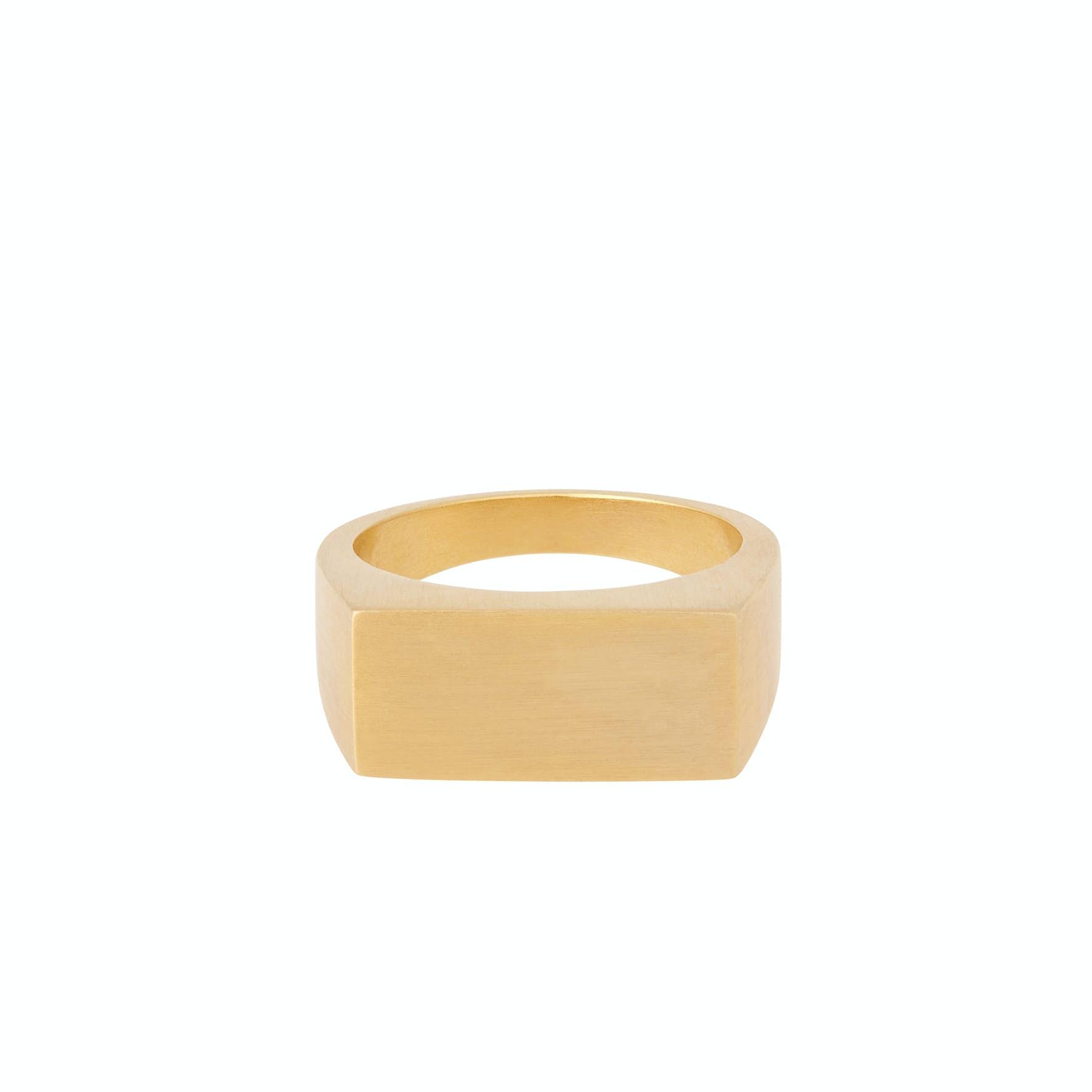 Rock Ring von Pernille Corydon in Vergoldet-Silber Sterling 925
