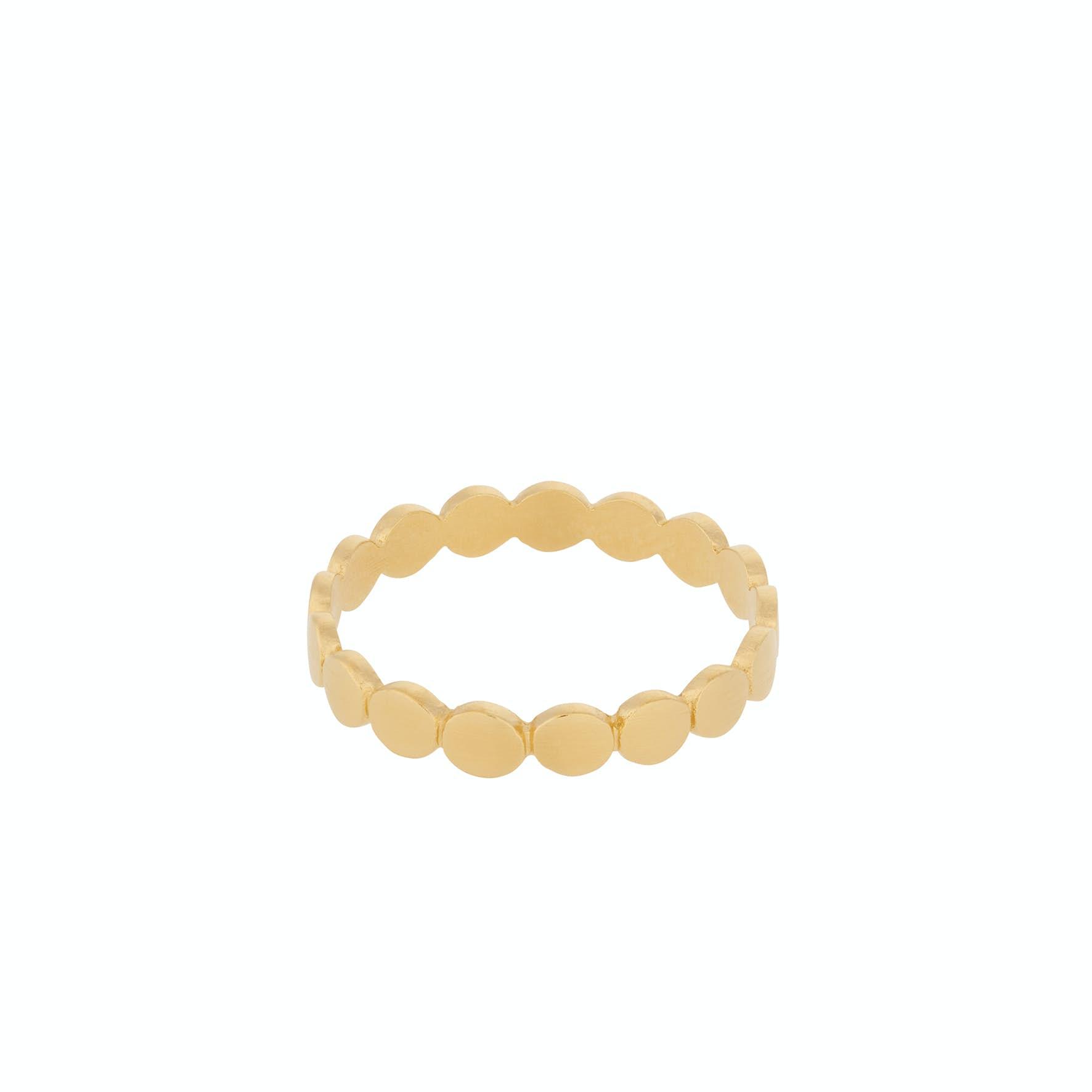 Catana Ring fra Pernille Corydon i Forgyldt-Sølv Sterling 925