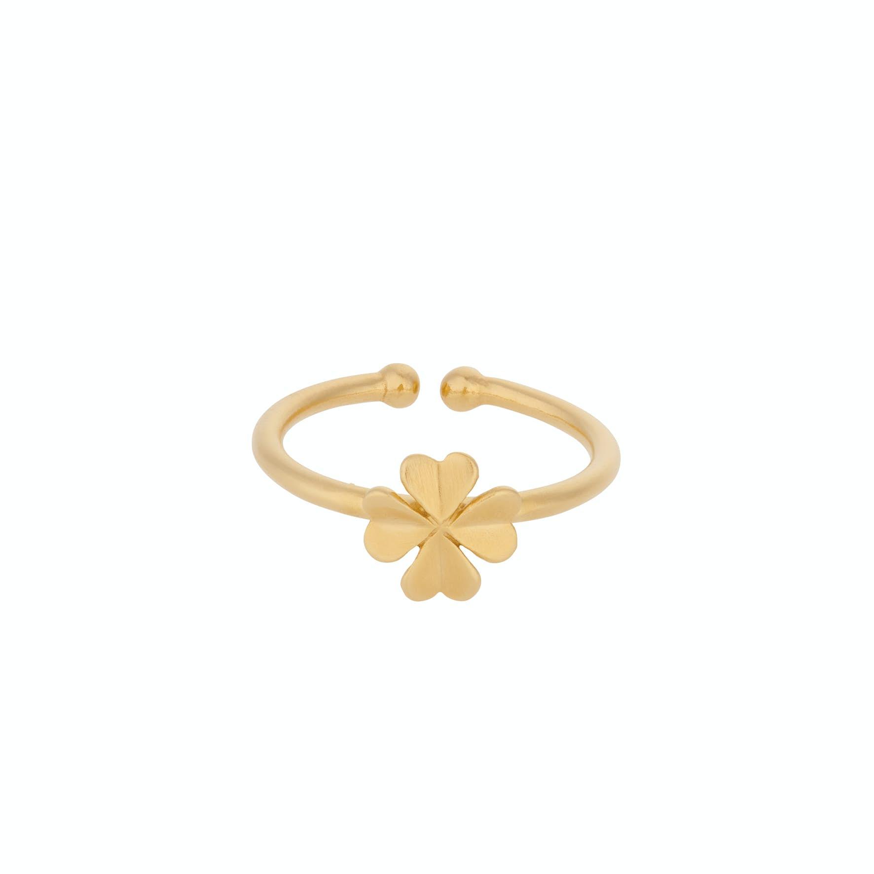 Clover Ring från Pernille Corydon i Förgyllt-Silver Sterling 925