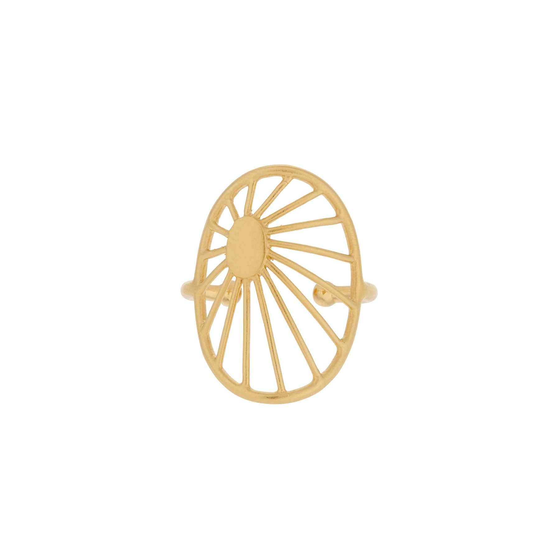 Daydream Ring von Pernille Corydon in Vergoldet-Silber Sterling 925