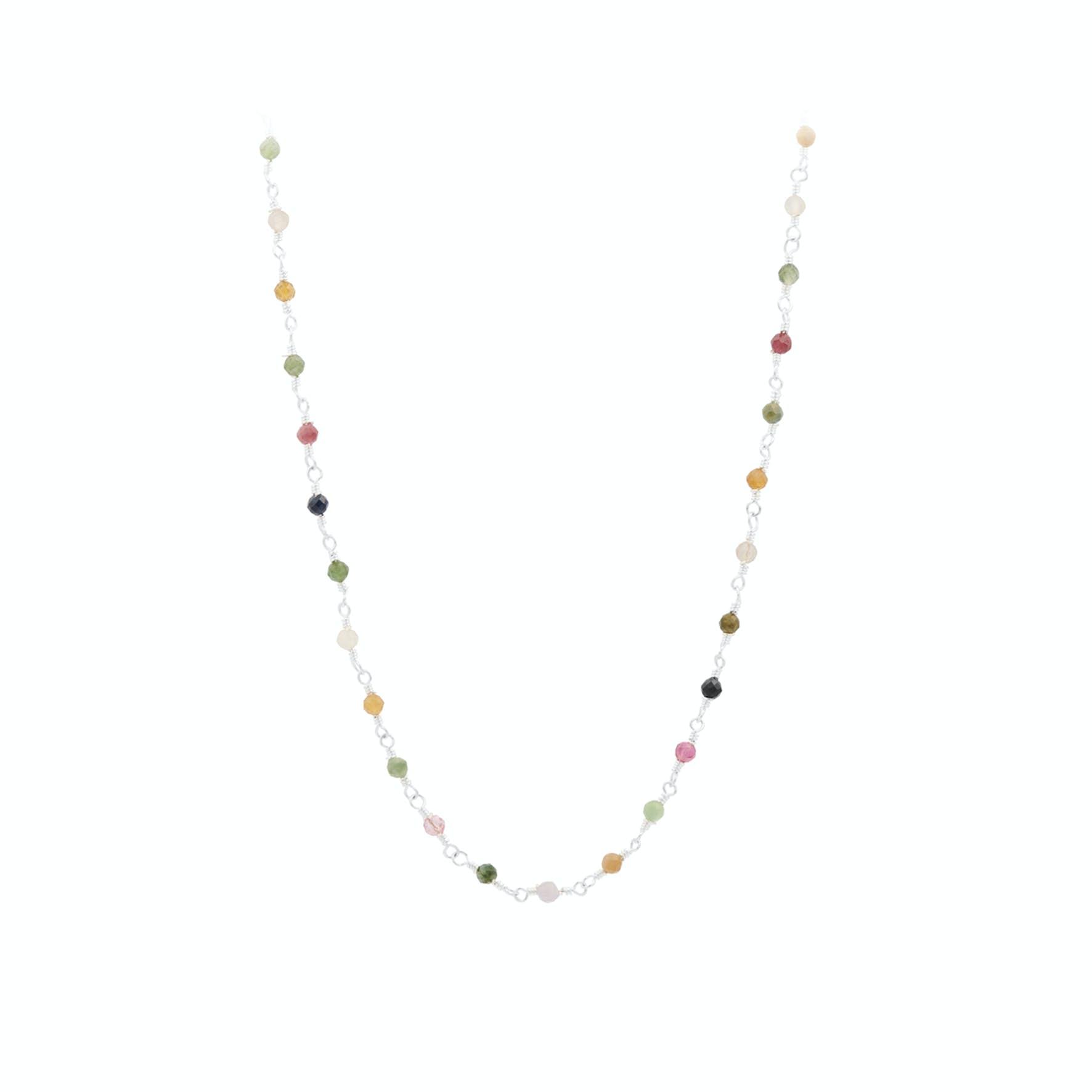 Shade Necklace von Pernille Corydon in Silber Sterling 925|Turmalin