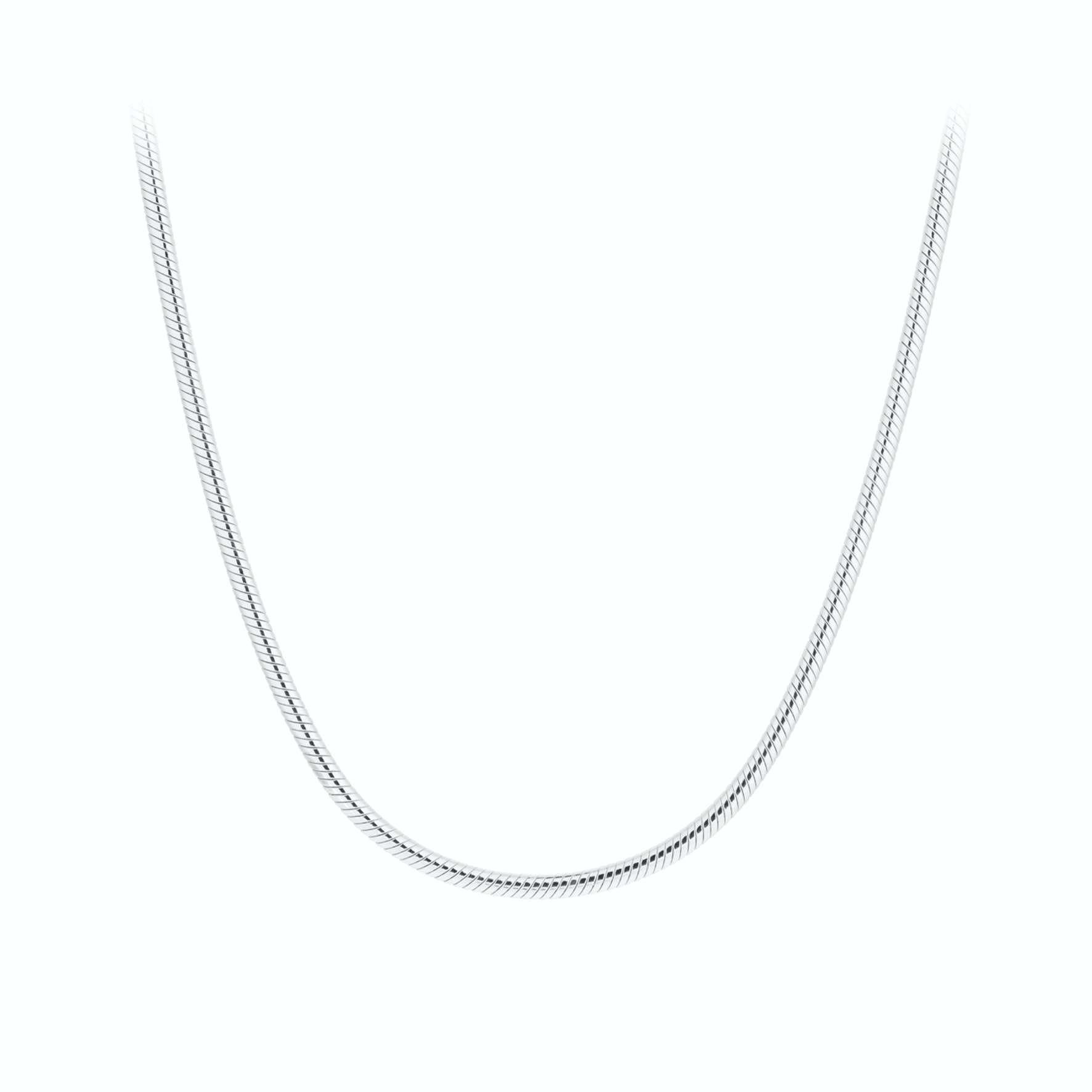 Snake Necklace von Pernille Corydon in Silber Sterling 925