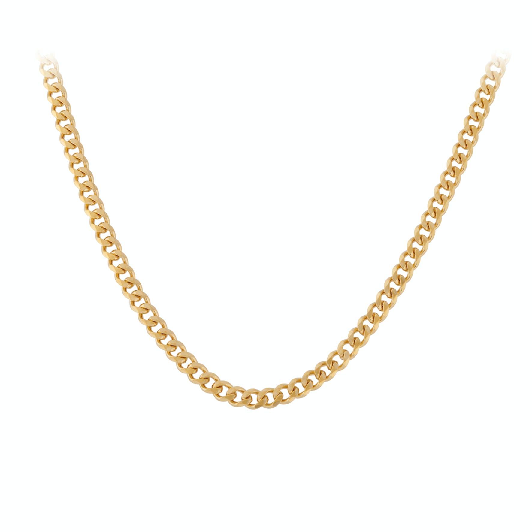 Solid Necklace Short von Pernille Corydon in Vergoldet-Silber Sterling 925
