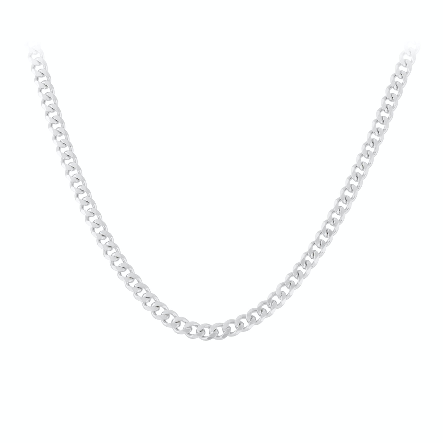 Solid Necklace Short von Pernille Corydon in Silber Sterling 925