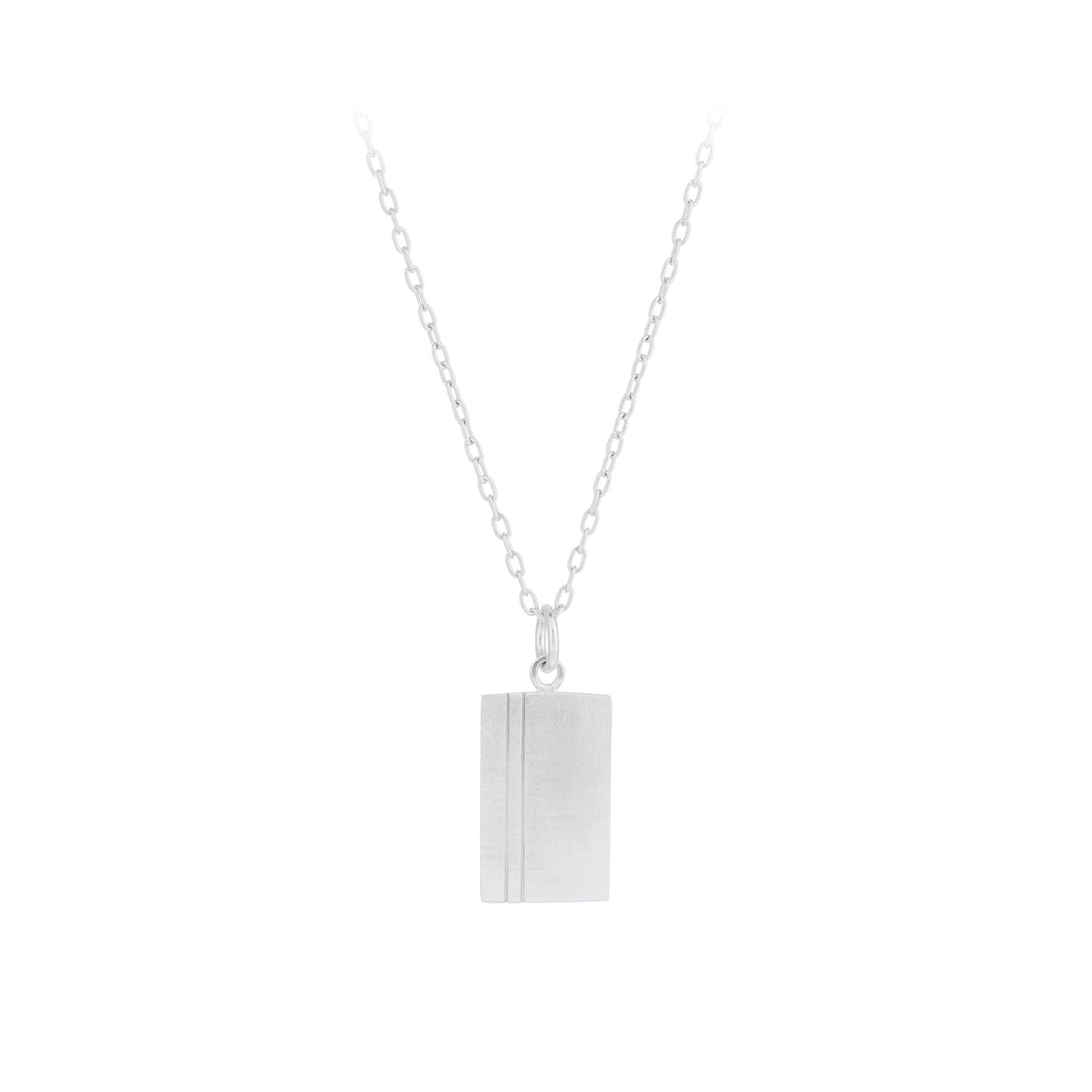 Edge Necklace fra Pernille Corydon i Sølv Sterling 925