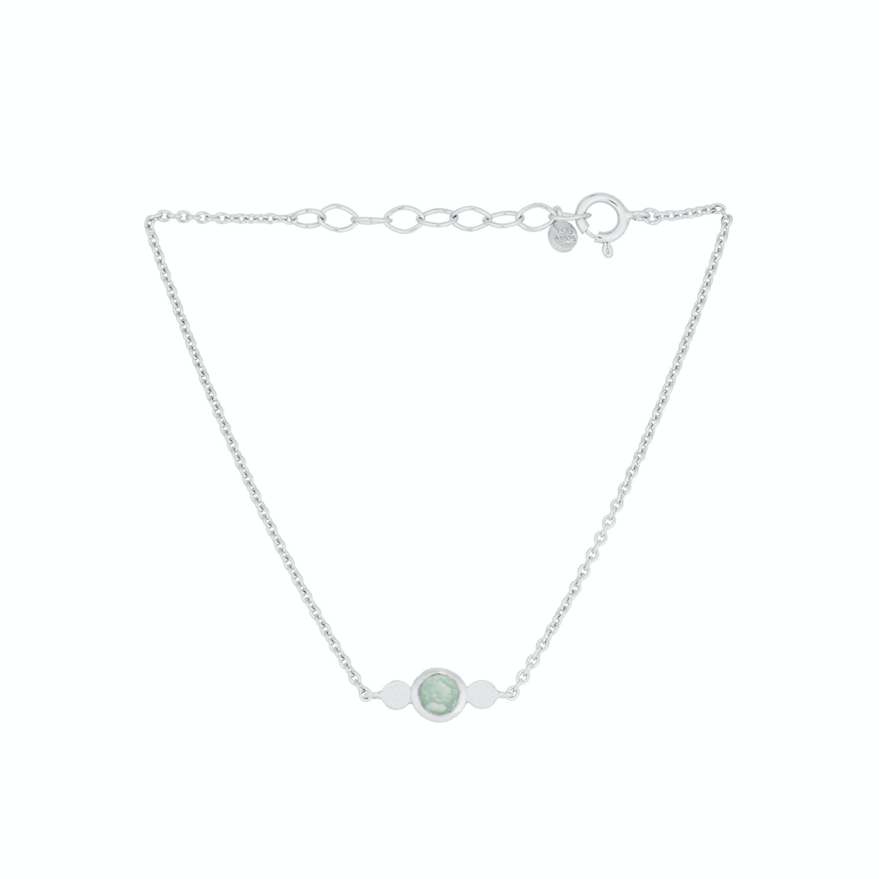 Fjord Bracelet fra Pernille Corydon i Sølv Sterling 925|Amazonite