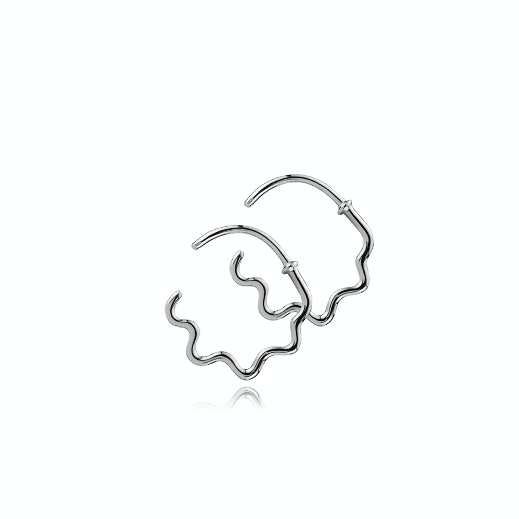 Young One Snake Earrings von Sistie in Silber Sterling 925