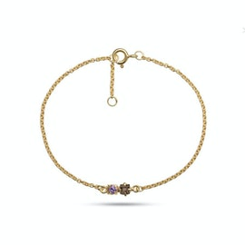 Gem Candy 2 gemstones bracelet
