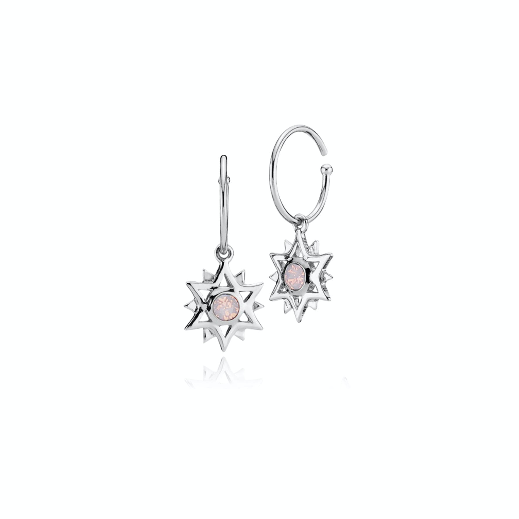 Olivia By Sistie Creols Rose Opal von Sistie in Silber Sterling 925
