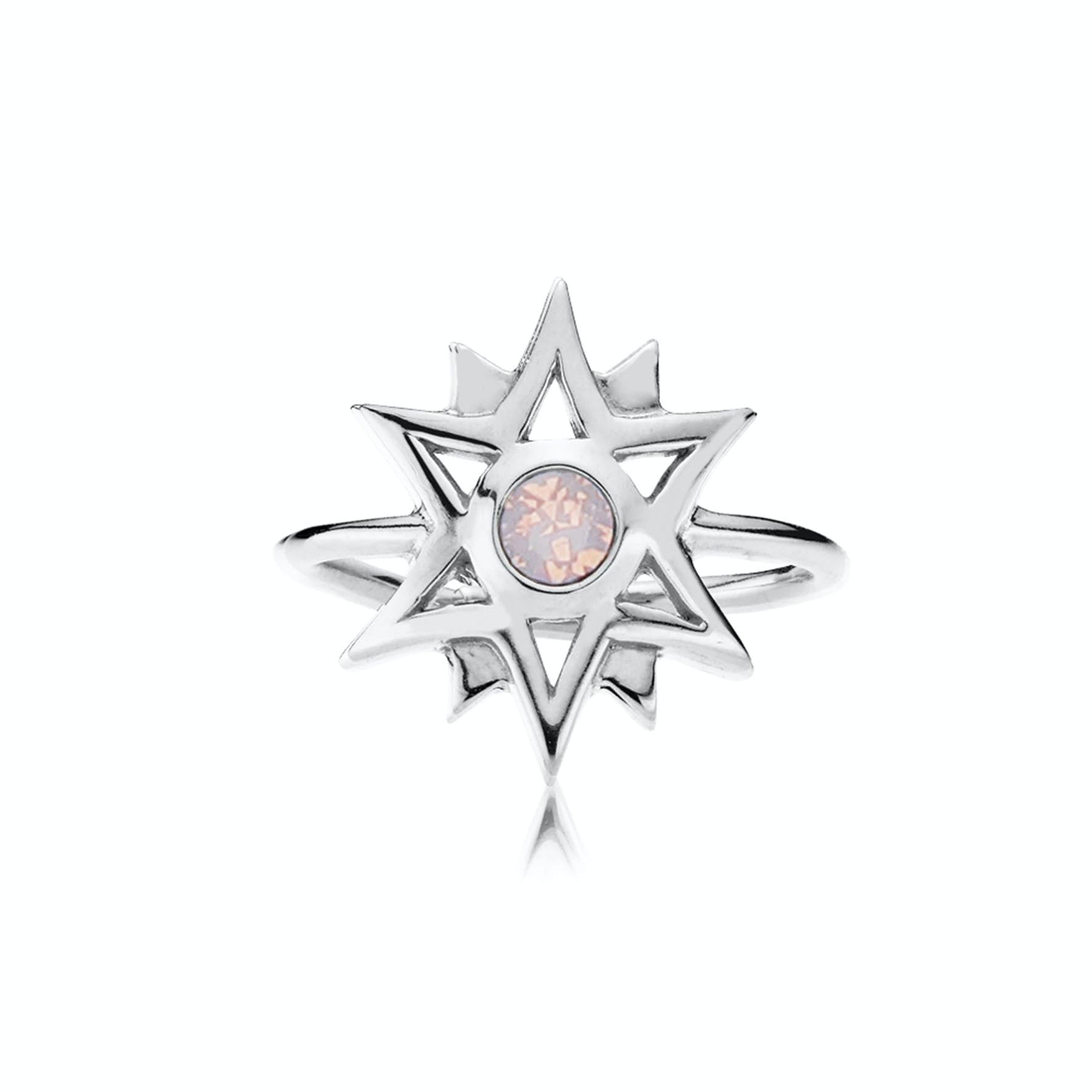 Olivia By Sistie Ring Rose Opal von Sistie in Silber Sterling 925