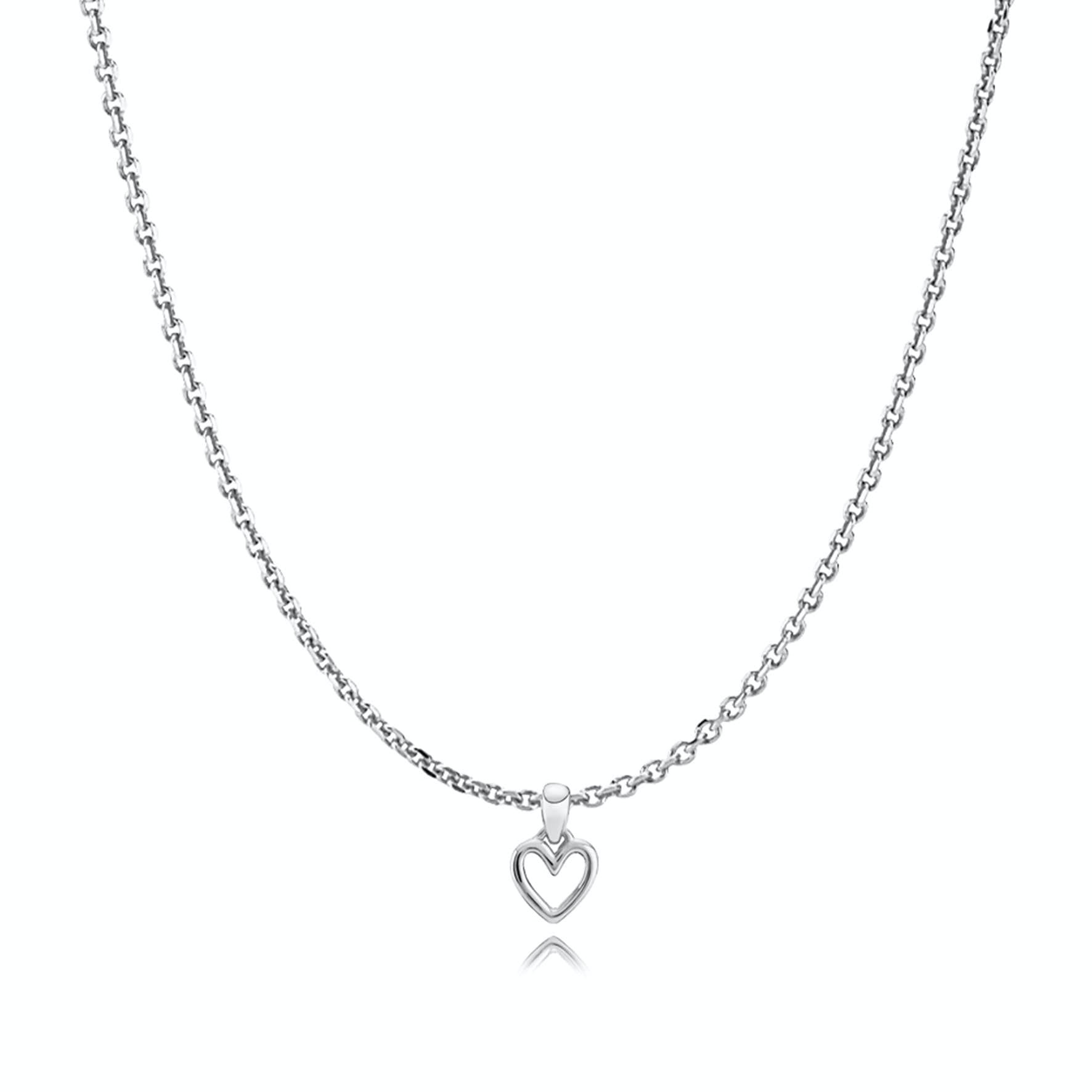 Love Charity Necklace von Izabel Camille in Silber Sterling 925