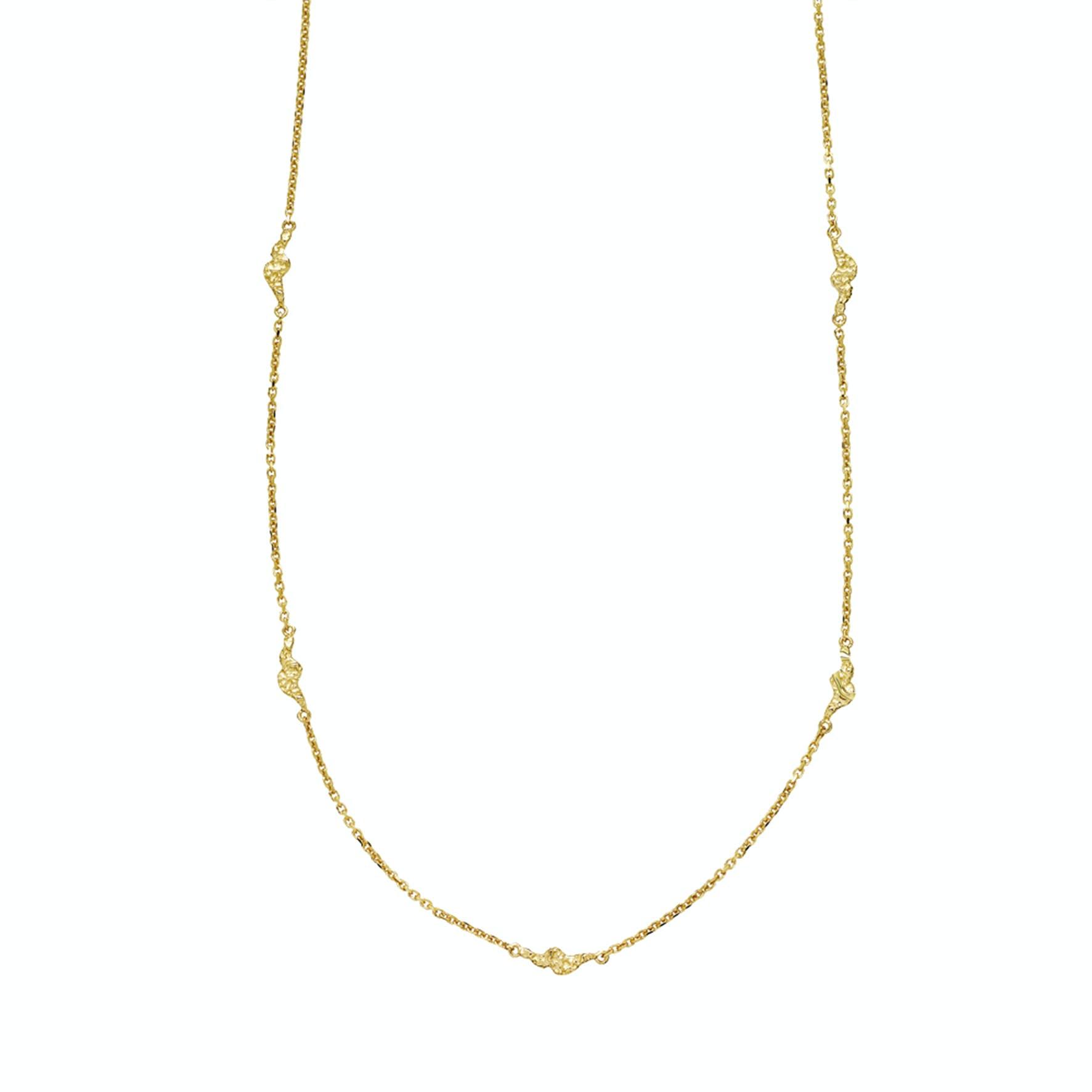 Silke By Sistie Necklace von Sistie in Vergoldet-Silber Sterling 925|Blank
