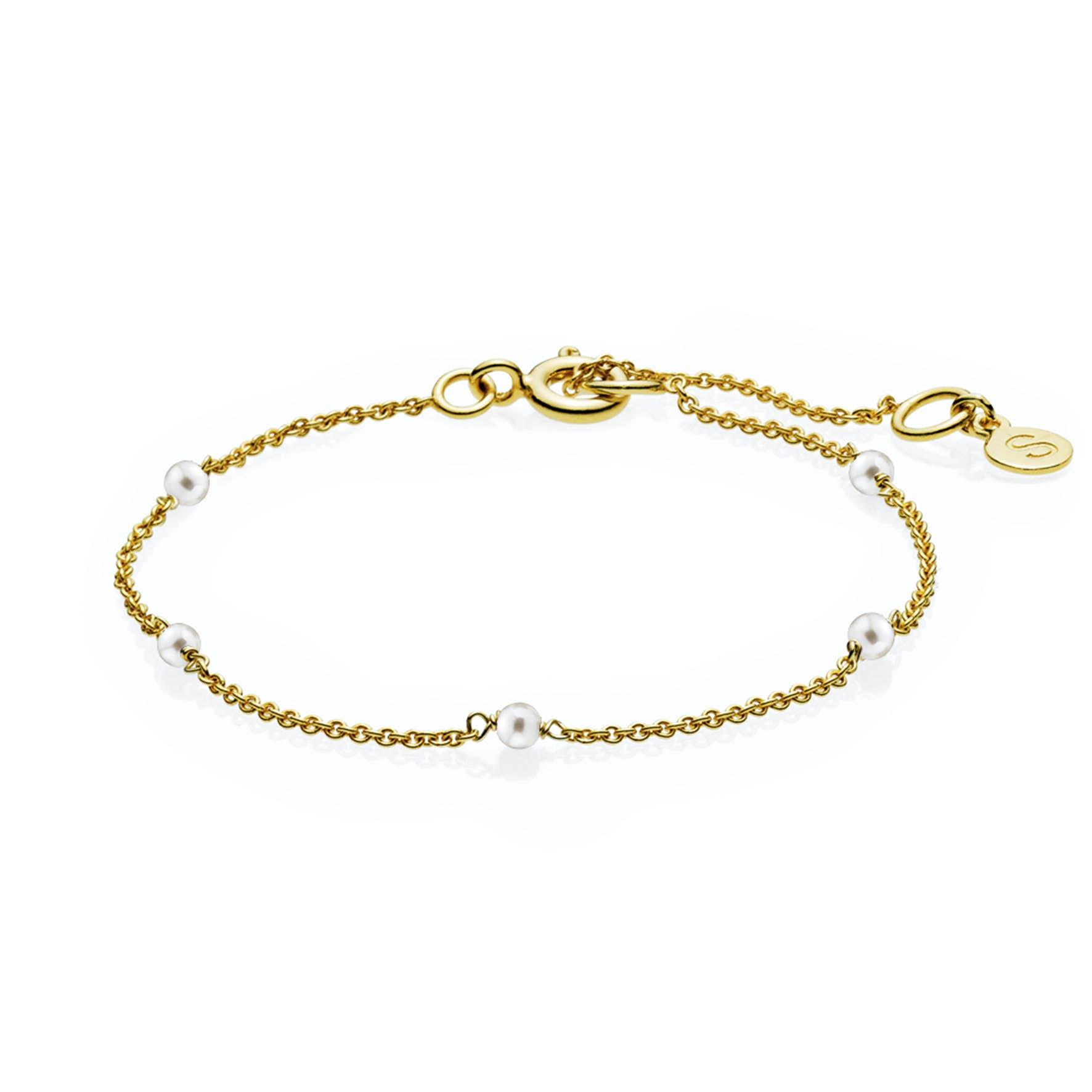India Bracelet White