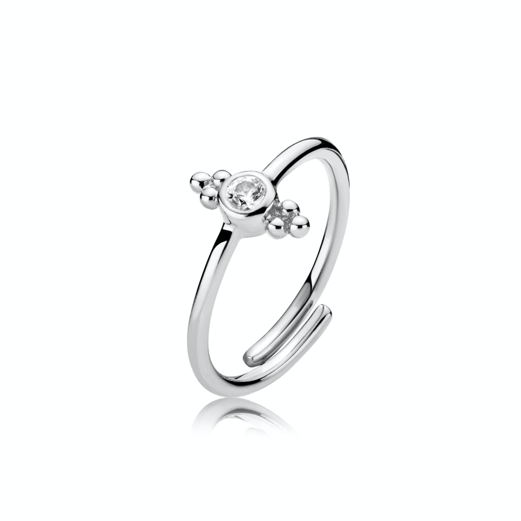 Sofie By Sistie Ring von Sistie in Silber Sterling 925 Blank