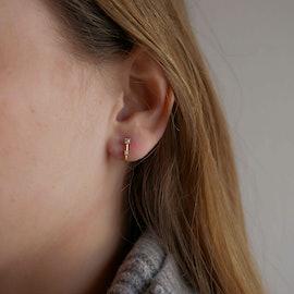 Louella Earrings från Enamel Copenhagen i Förgyllt-Silver Sterling 925|