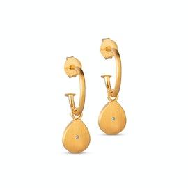 Hallie Earrings från Enamel Copenhagen i Förgyllt-Silver Sterling 925|