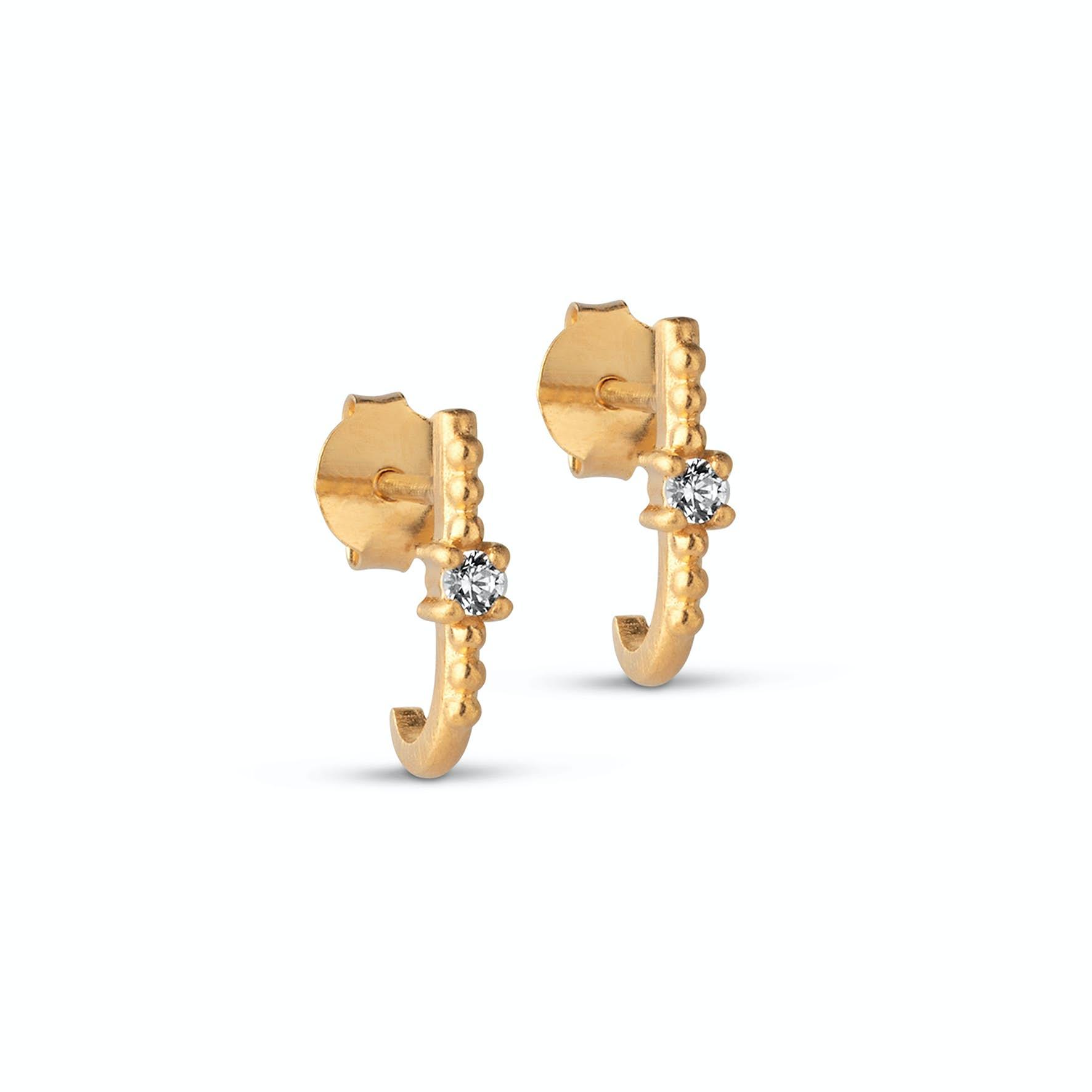 Noelle Earrings from Enamel Copenhagen in Goldplated-Silver Sterling 925