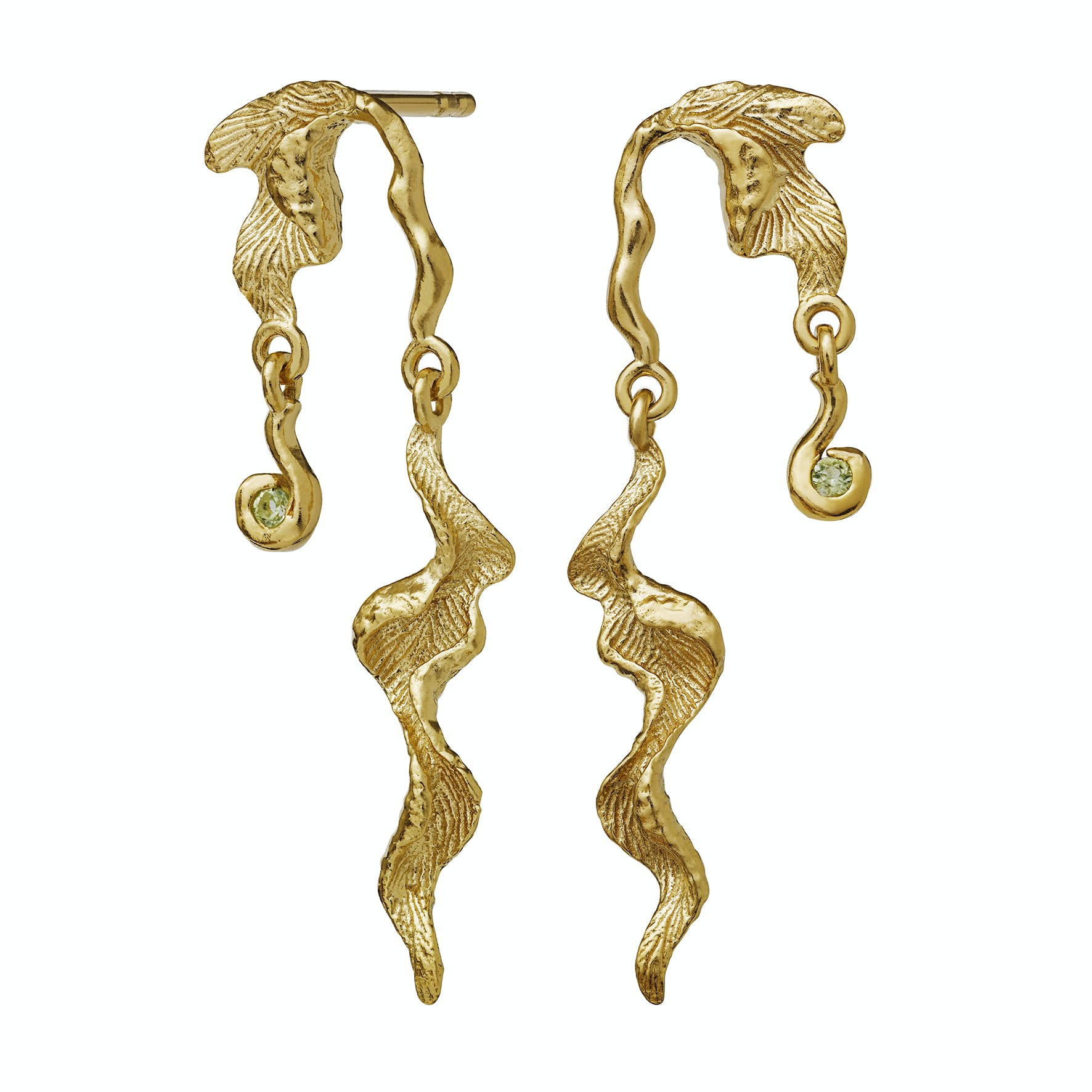 Lida Earrings fra Maanesten i Forgylt-Sølv Sterling 925