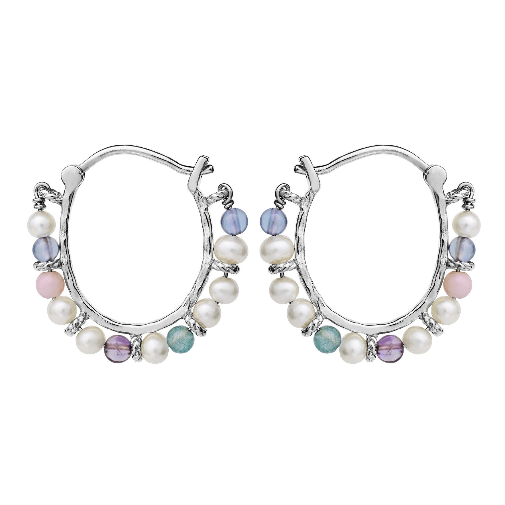 Phile Multi Earrings von Maanesten in Silber Sterling 925