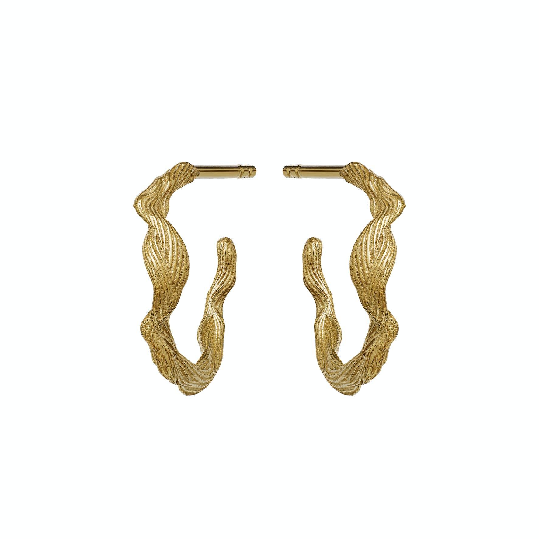 Ara Earrings von Maanesten in Vergoldet-Silber Sterling 925