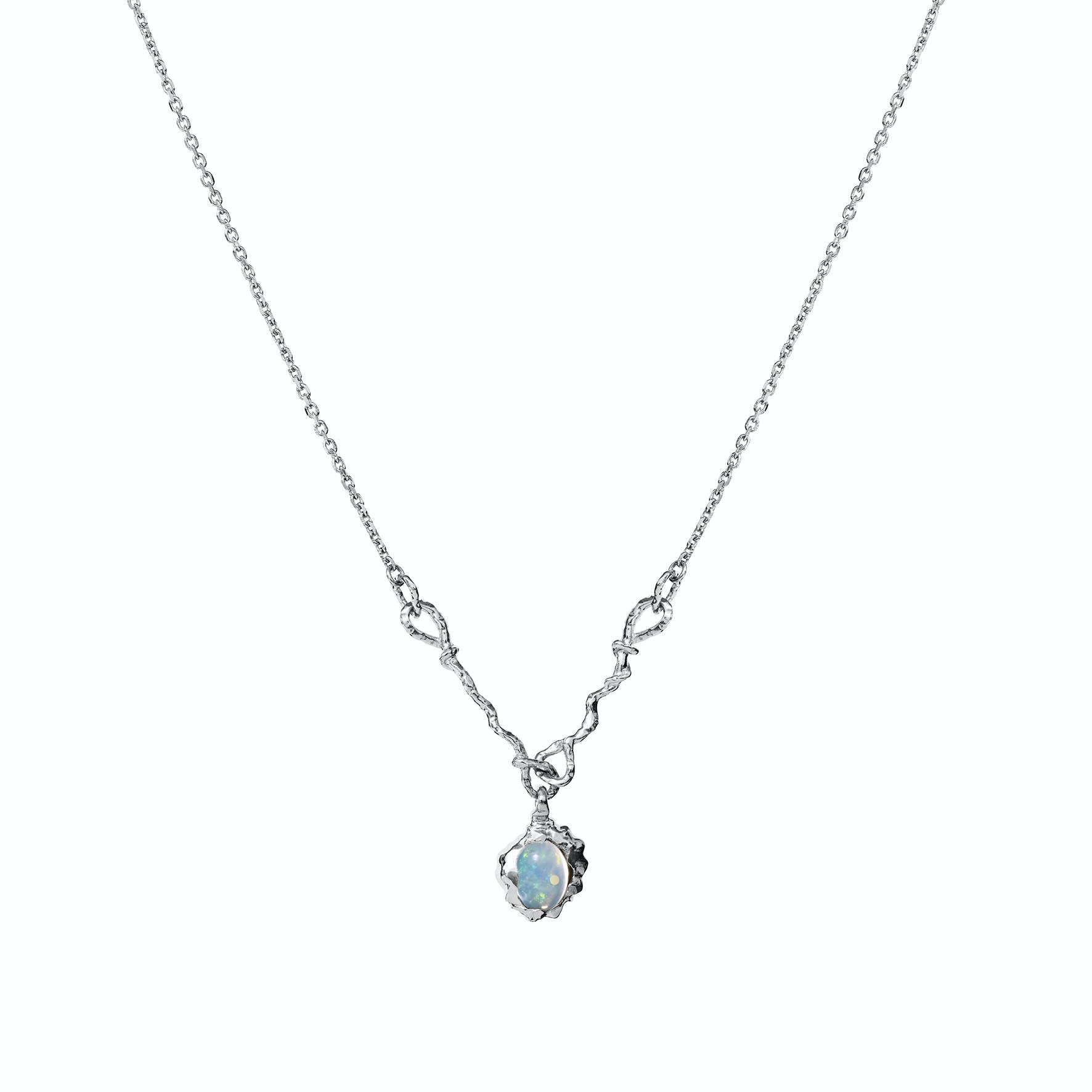 Phoenix Necklace from Maanesten in Silver Sterling 925