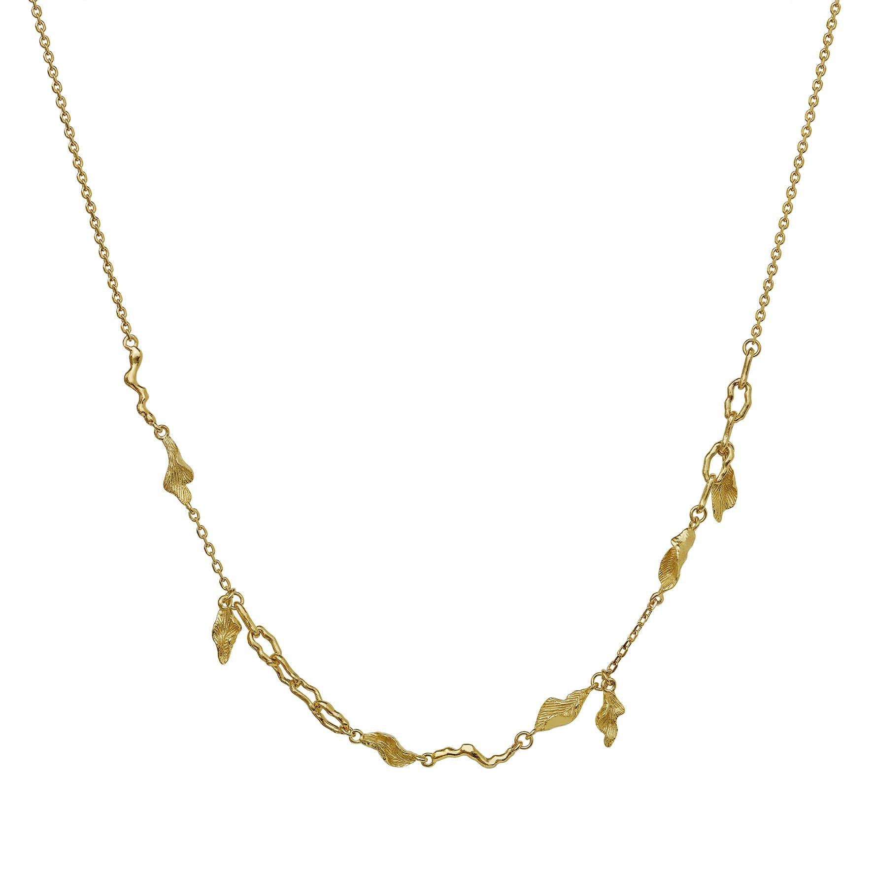 Lenani Necklace fra Maanesten i Forgyldt-Sølv Sterling 925