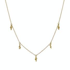 Marylou Necklace von Maanesten in Vergoldet-Silber Sterling 925