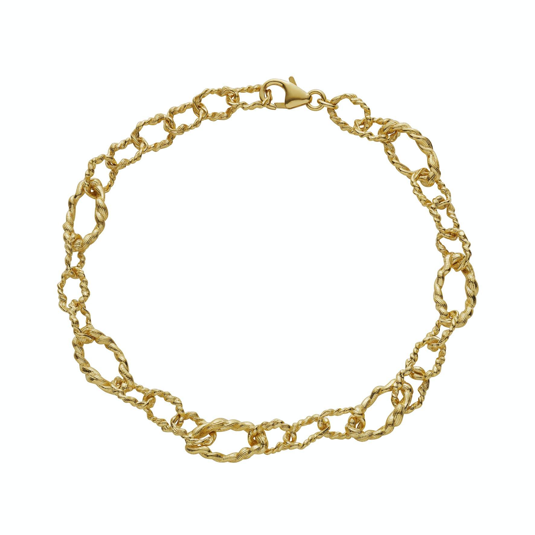 Elah Bracelet från Maanesten i Förgyllt-Silver Sterling 925