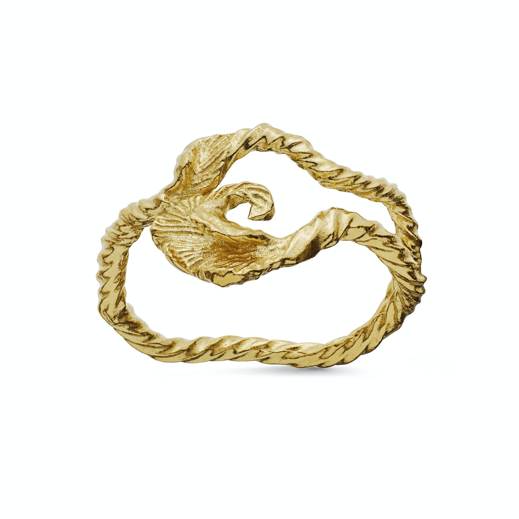 Esol Ring from Maanesten in Goldplated-Silver Sterling 925