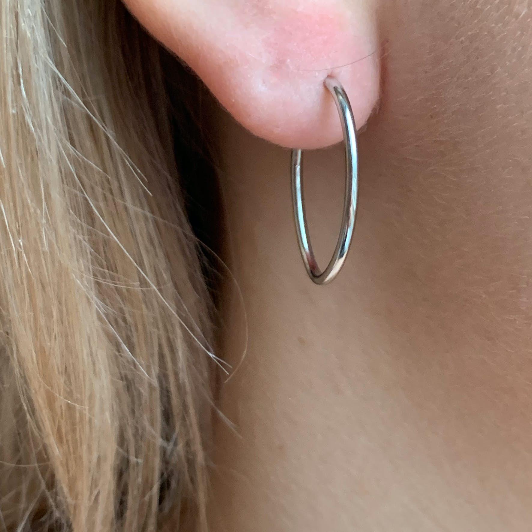 Endless Earrings fra Izabel Camille i Sølv Sterling 925