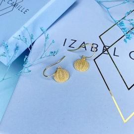 Seashell Earrings fra Izabel Camille i Forgylt-Sølv Sterling 925