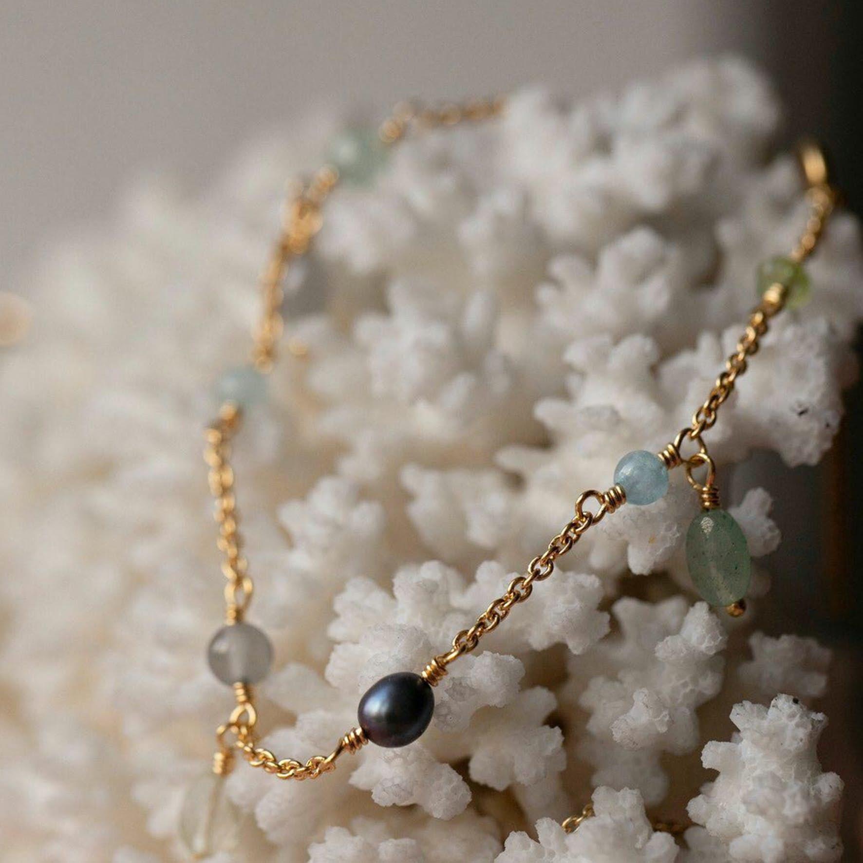 Gem Candy Bracelet Aqua