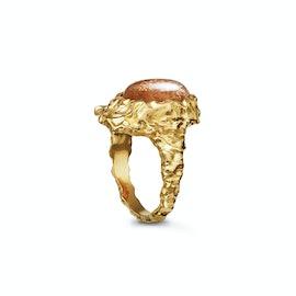 Goddess Ring Sunstone