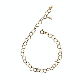 Happy Hearts Bracelet fra STINE A Jewelry i Forgylt-Sølv Sterling 925