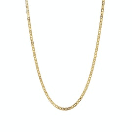 Petit Link Pendant Chain fra STINE A Jewelry i Forgylt-Sølv Sterling 925