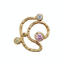 Twirly Candy Dots Earstick aus STINE A Jewelry