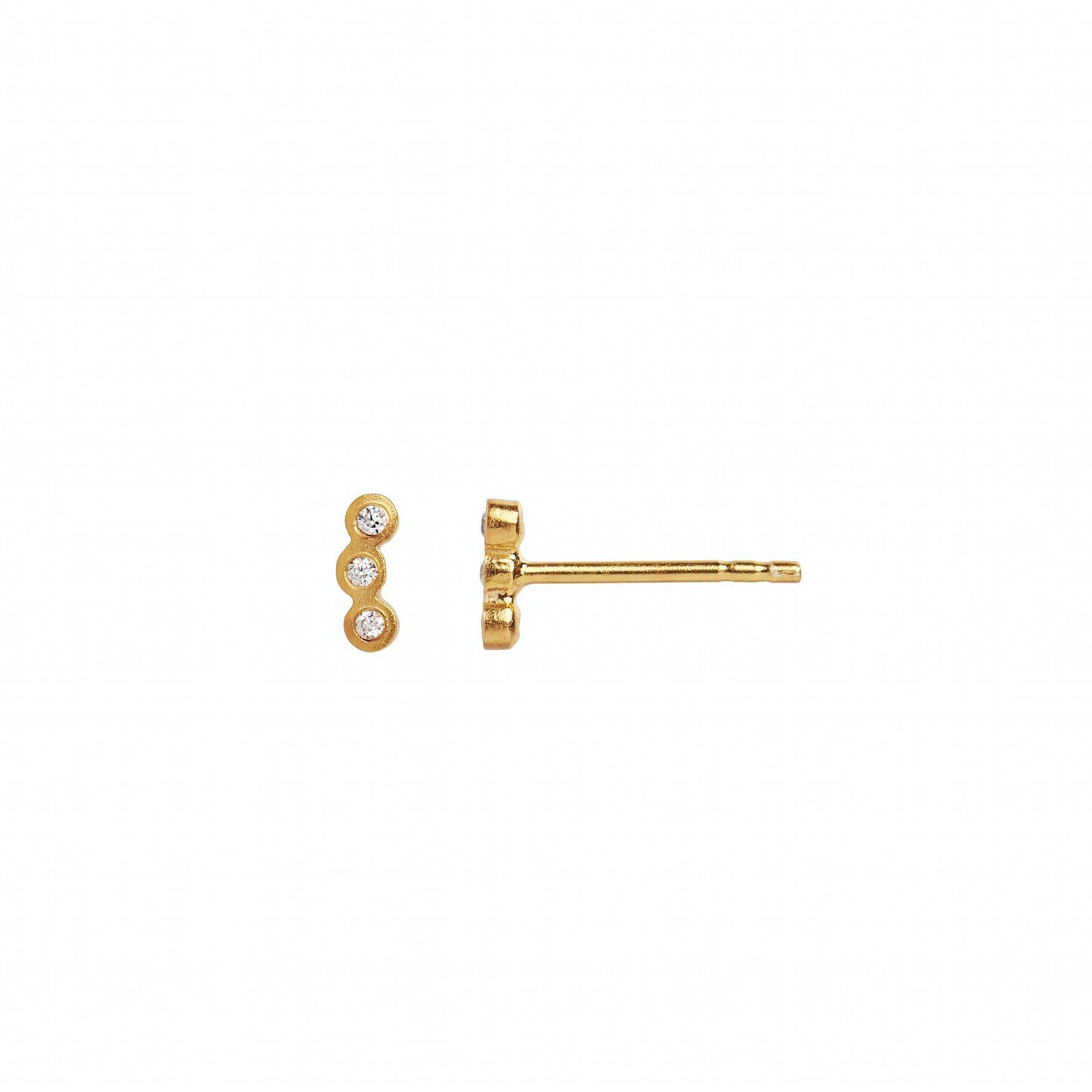 Three Dots Earstick Piece von STINE A Jewelry in Vergoldet-Silber Sterling 925