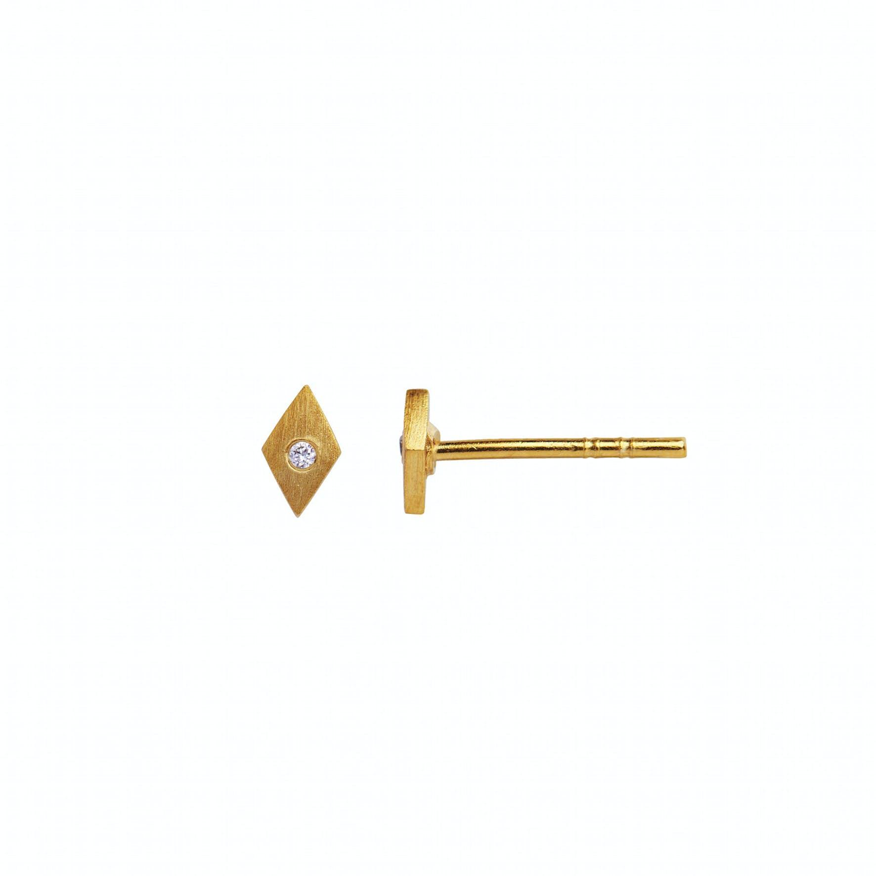 Petit Harlekin Earstick Piece fra STINE A Jewelry i Forgyldt-Sølv Sterling 925