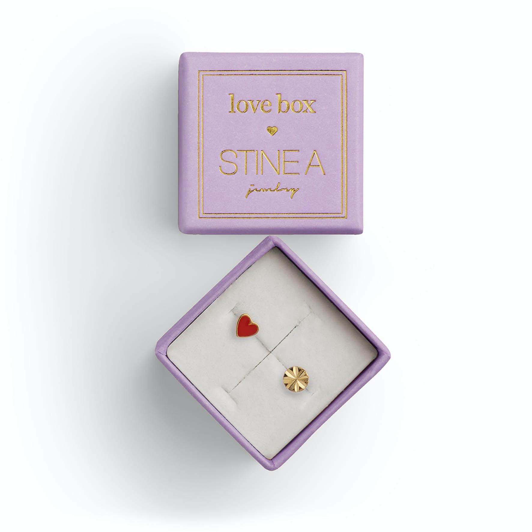 Love Box 65 von STINE A Jewelry in Vergoldet-Silber Sterling 925