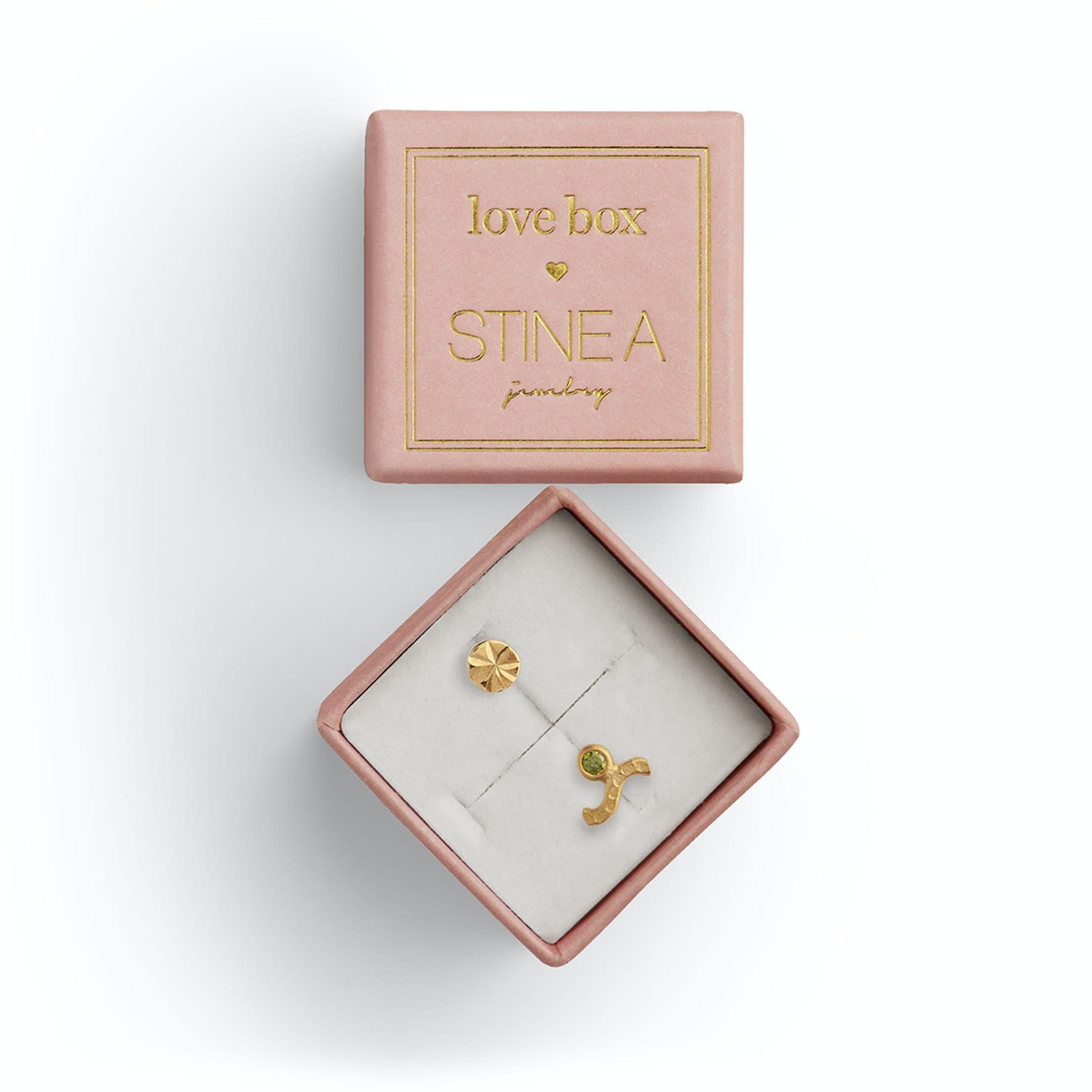Love Box 67 fra STINE A Jewelry i Forgylt-Sølv Sterling 925
