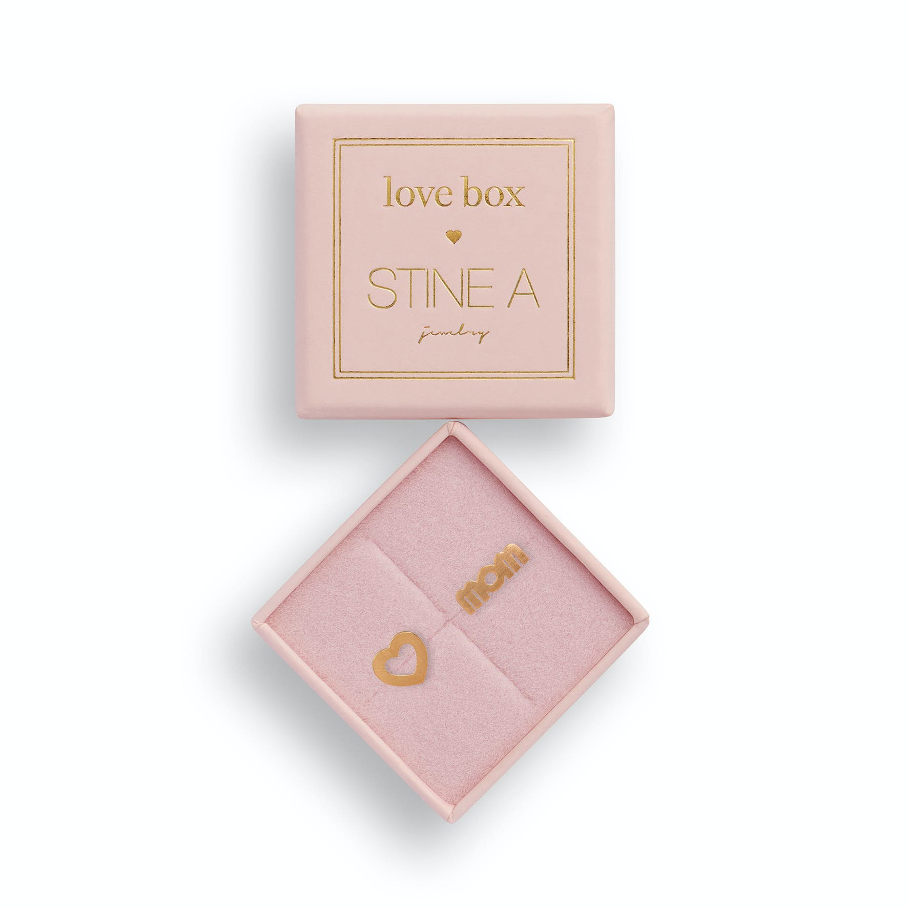 Love Box 102 from STINE A Jewelry in Goldplated-Silver Sterling 925