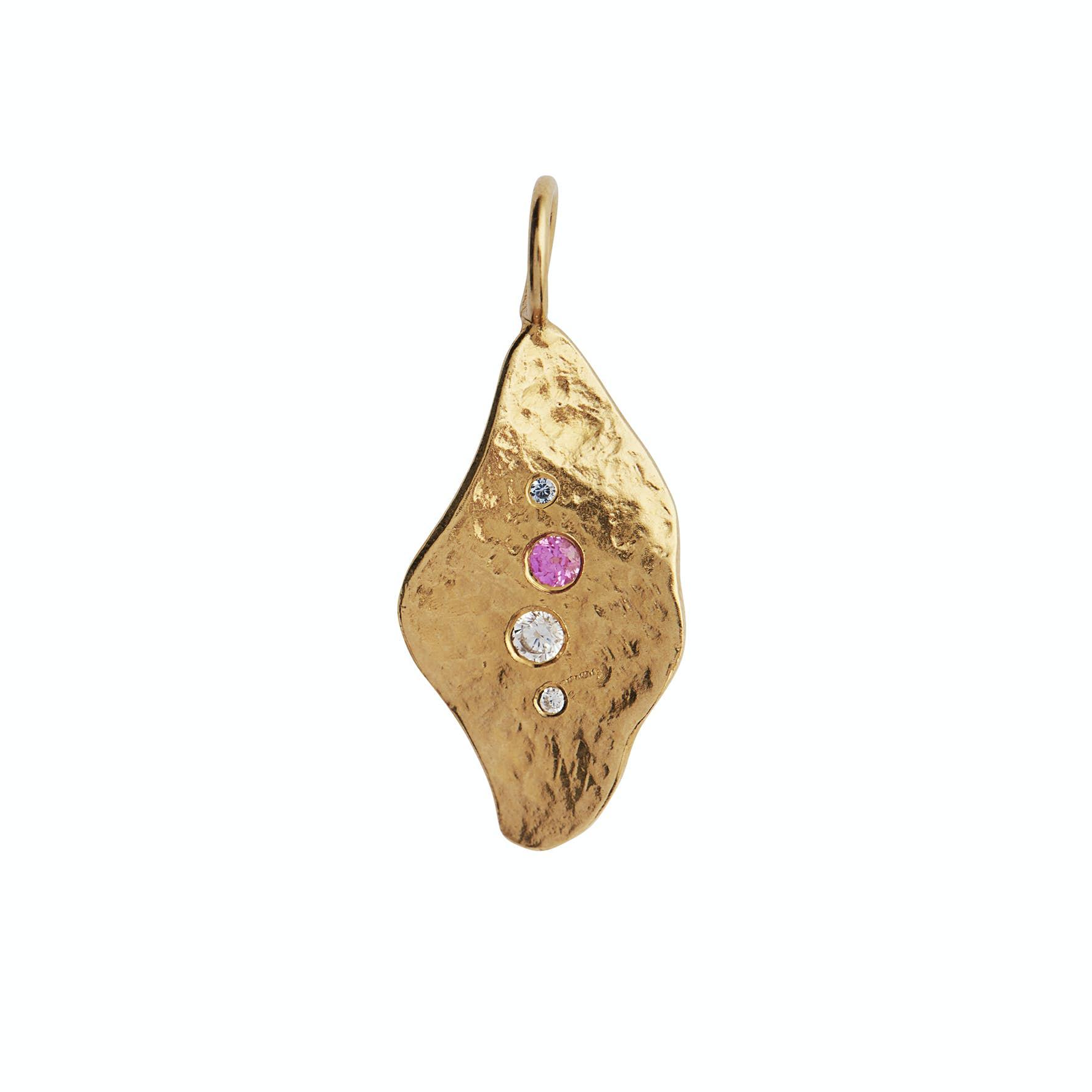 I'le De L'amour Pendant fra STINE A Jewelry i Forgylt-Sølv Sterling 925