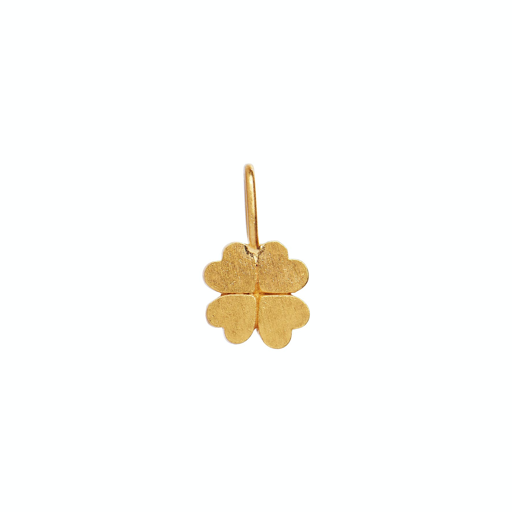 Petit Clover Charm from STINE A Jewelry in Goldplated-Silver Sterling 925