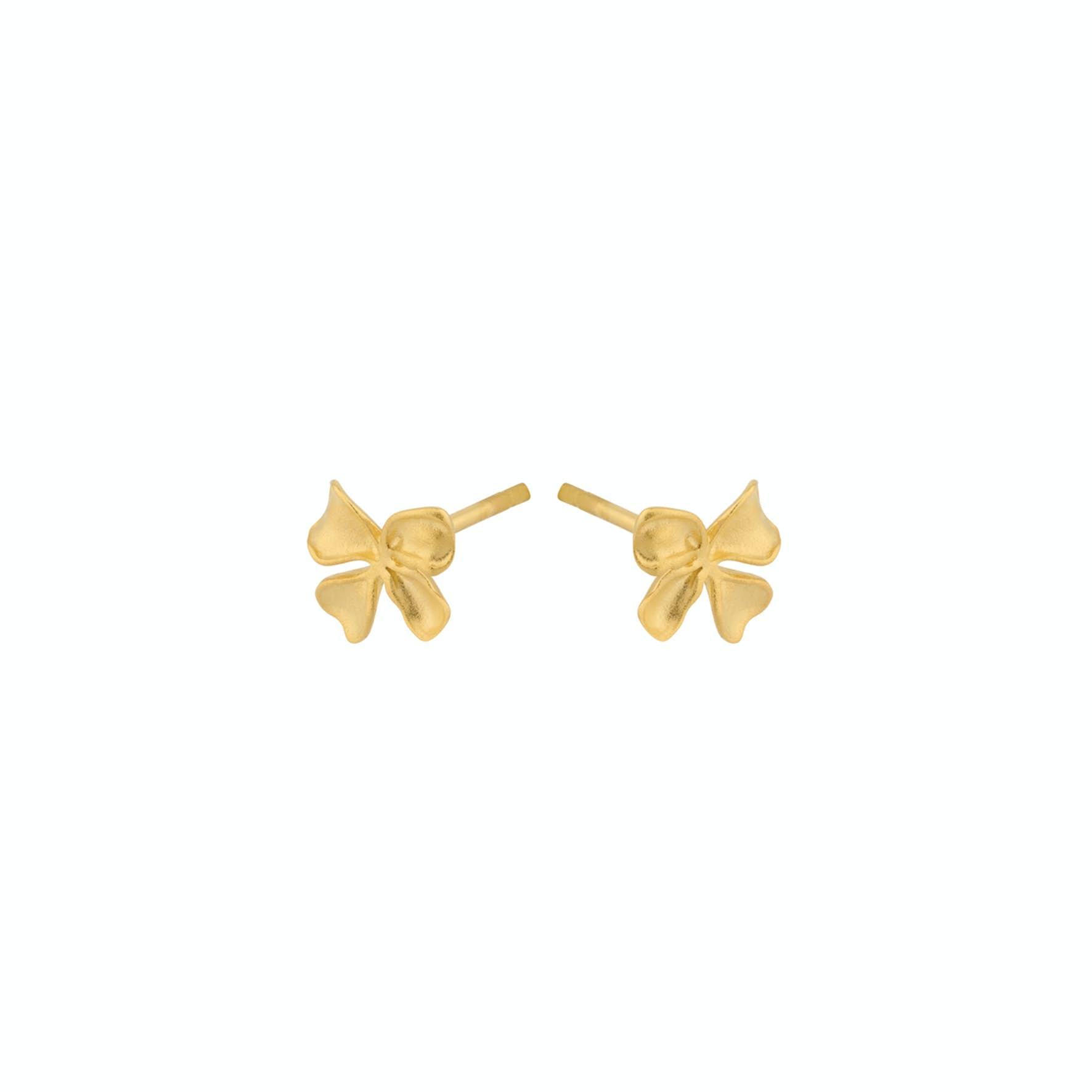 Bloom Earsticks fra Pernille Corydon i Forgylt-Sølv Sterling 925