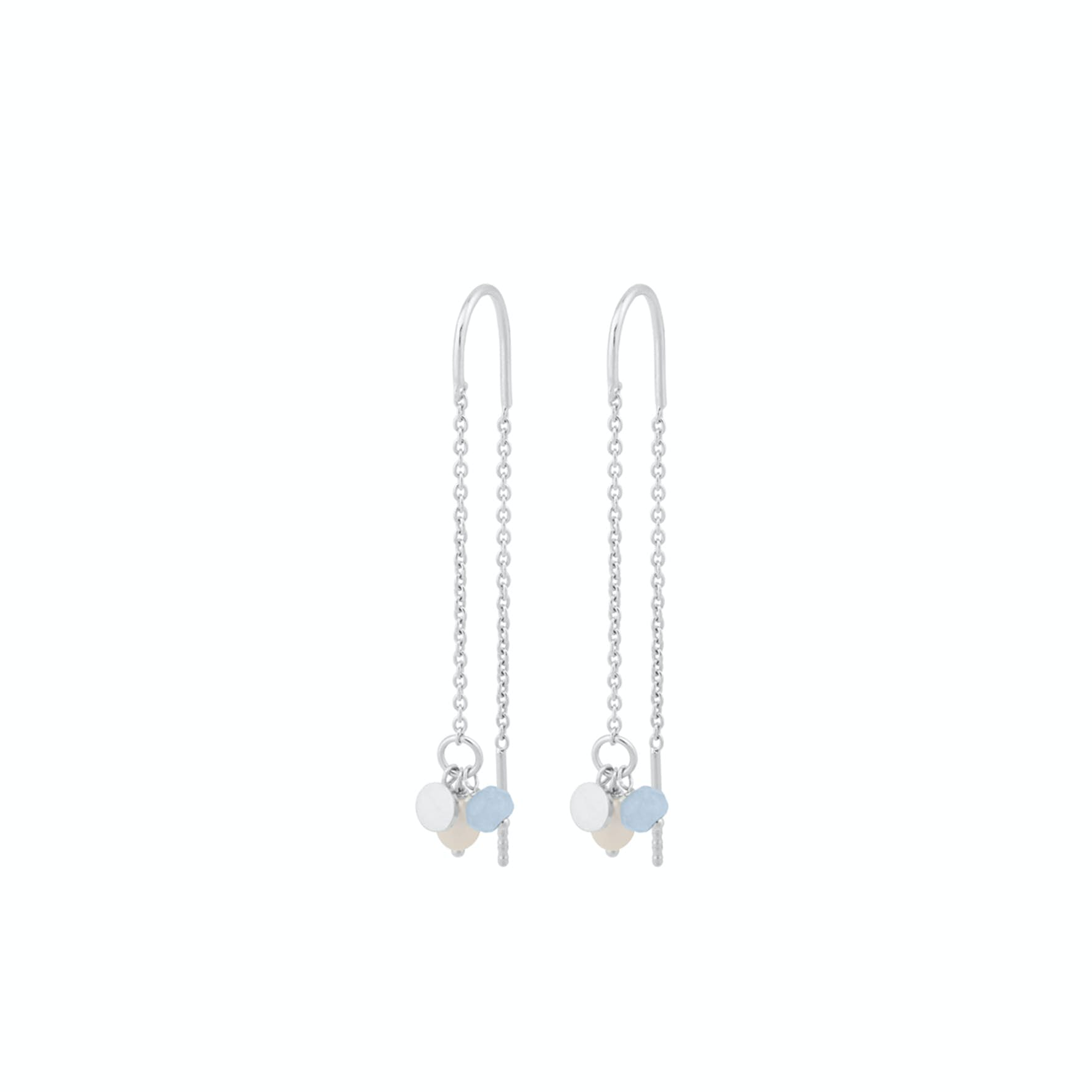 Sea Earchains von Pernille Corydon in Silber Sterling 925