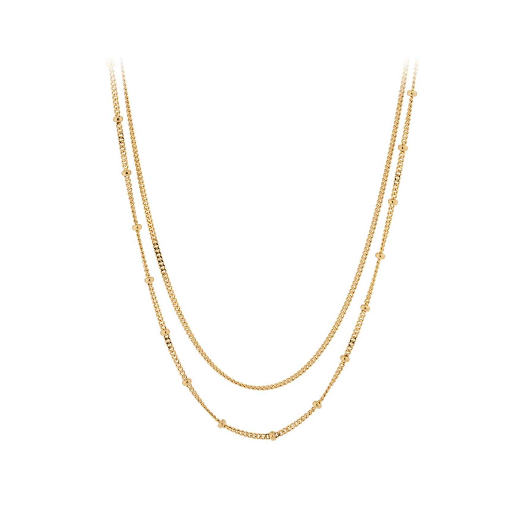 Galaxy Necklace fra Pernille Corydon i Forgyldt-Sølv Sterling 925