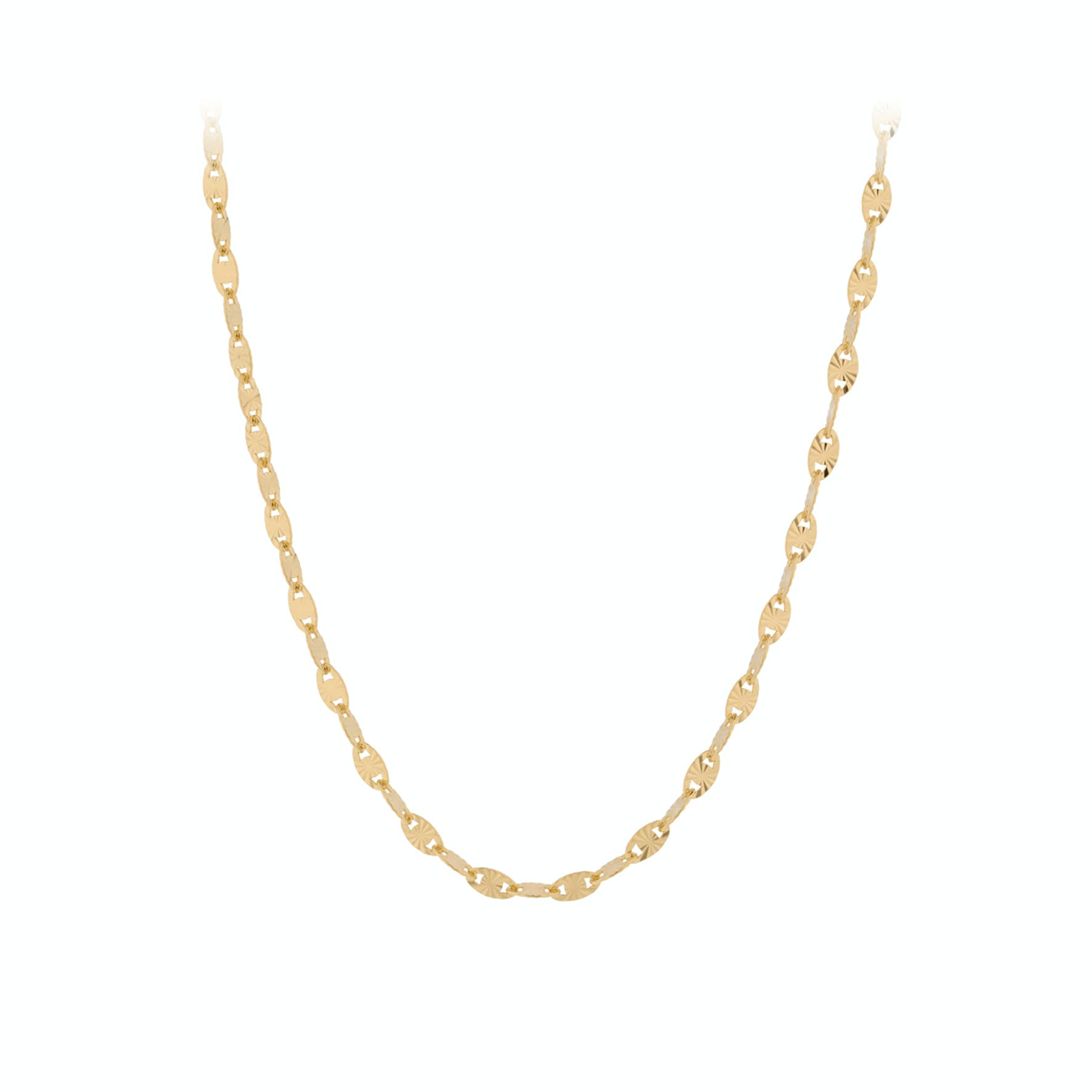 Ocean Stars Necklace from Pernille Corydon in Goldplated-Silver Sterling 925