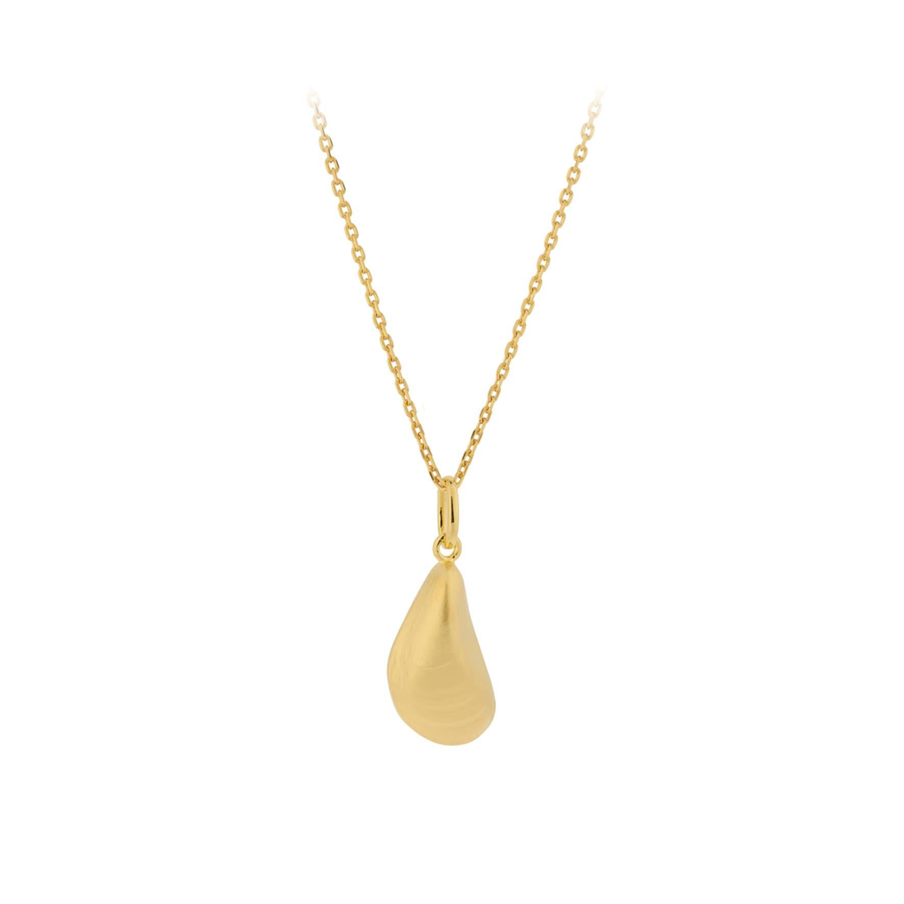 Seashell Necklace von Pernille Corydon in Vergoldet-Silber Sterling 925