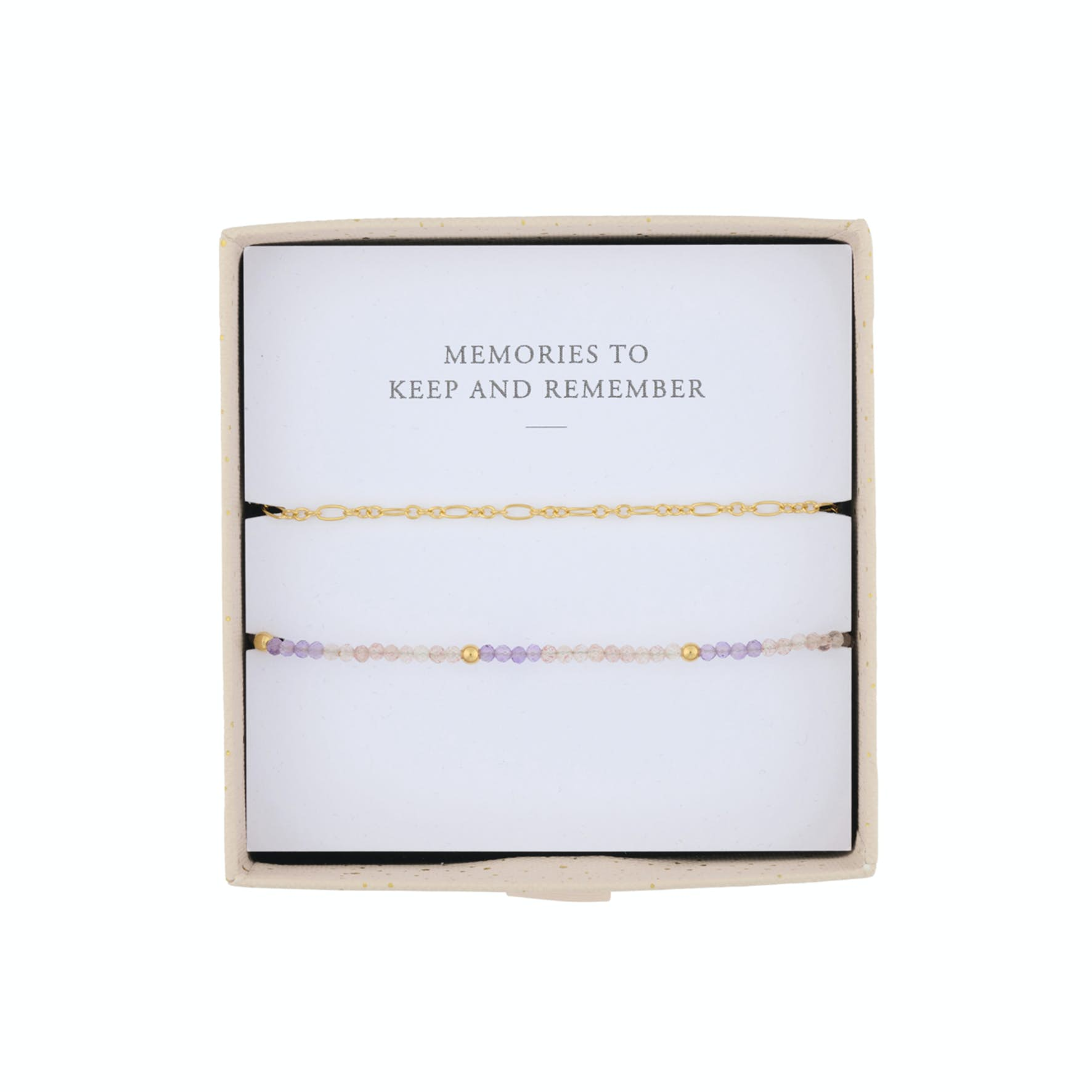 Daydream Bracelet Box from Pernille Corydon in Goldplated-Silver Sterling 925